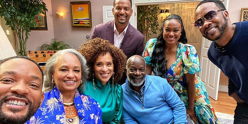 Will Smith shares Fresh Prince reunion photo 30 years after show's debut